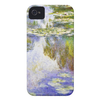 Water Lilies Claude Monet cool, old, master, maste Case-Mate iPhone 4 Cases
