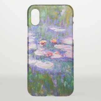 Water Lilies Claude Monet Fine Art iPhone X Case
