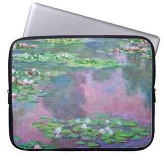 Water Lilies Claude Monet Fine Art Laptop Computer Sleeves