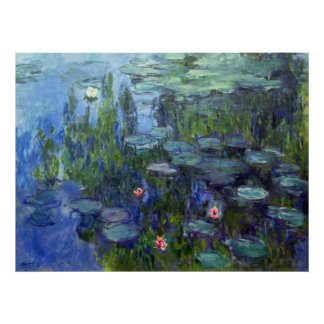 Water Lilies, Claude Monet Posters