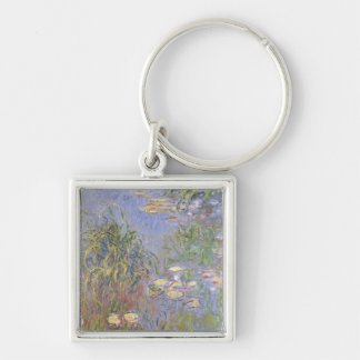 Water-Lilies, Cluster of Grass Key Ring