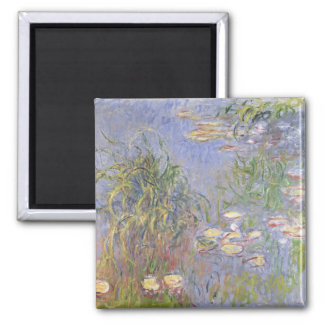 Water-Lilies, Cluster of Grass Magnet