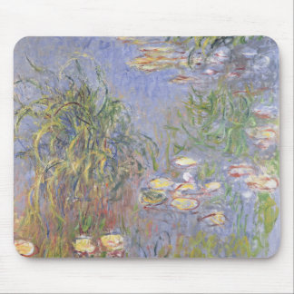 Water-Lilies, Cluster of Grass Mouse Pad