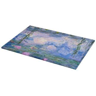 Water Lilies Cutting Board