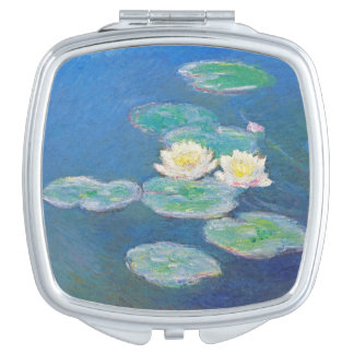 Water Lilies, Evening Effect by Monet Compact Mirrors