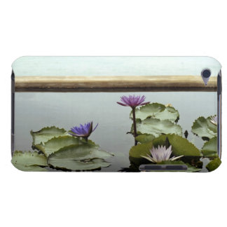 Water lilies in pond by ocean iPod touch Case-Mate case