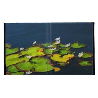 Water Lilies iPad Folio Case
