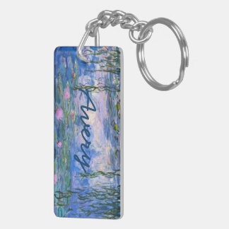 Water Lilies Key Ring
