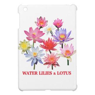 Water Lilies & Lotus iPad Mini Case