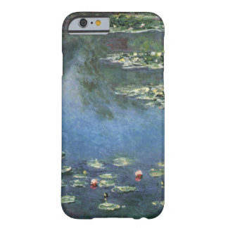 Water Lilies, Monet, Vintage Impressionism Flowers Barely There iPhone 6 Case