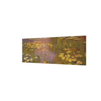 Water Lilies Nympheas Canvas Print