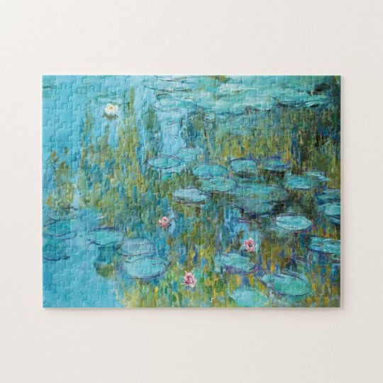 Water Lilies Nympheas Claude Monet Fine Art Jigsaw Puzzle