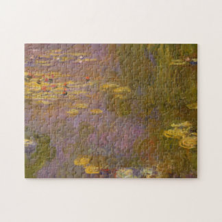 Water Lilies Nympheas Jigsaw Puzzle