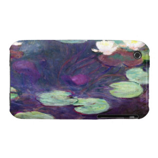 Water Lilies, Pink, 1897-99 Claude Monet cool, old iPhone 3 Covers