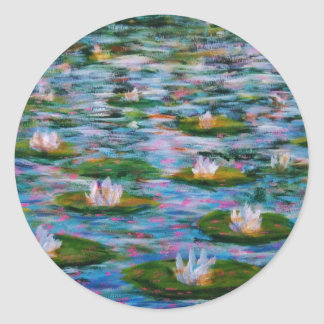 Water Lilies Stickers