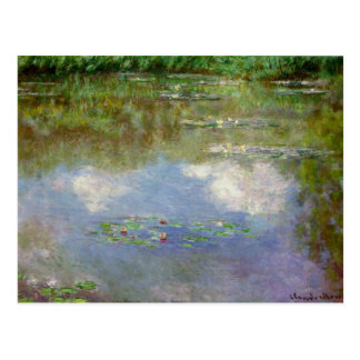 Water Lilies (The Clouds) Postcard