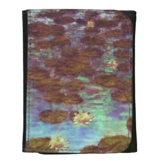 Water Lilies Wallet