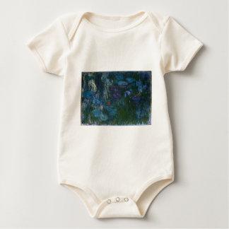 Water Lillies Baby Bodysuit