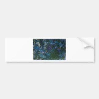 Water Lillies Bumper Sticker