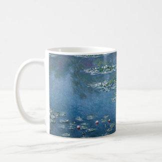 Water Lillies by Claude Monet Basic White Mug