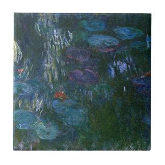 Water Lillies Ceramic Tile