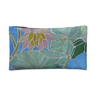 Water Lillies Cosmetic Bags