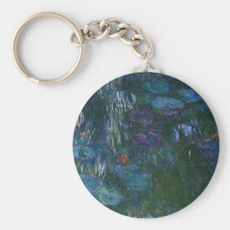Water Lillies Key Ring