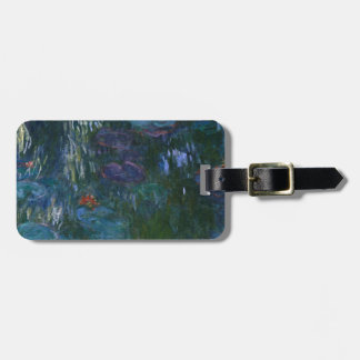 Water Lillies Luggage Tag