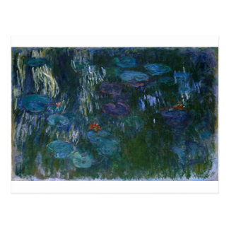 Water Lillies Postcard