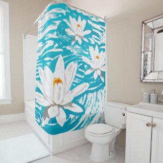 Water Lillies Shower Curtain