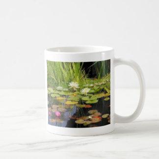 Water Lilly Flowers Coffee Mug