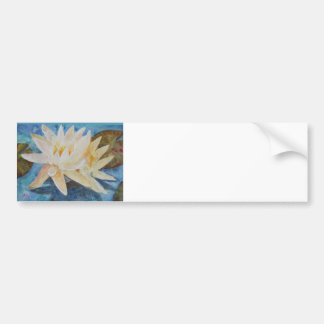 Water Lily 1 Bumper Sticker