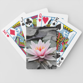 Water Lily #2 Bicycle Playing Cards