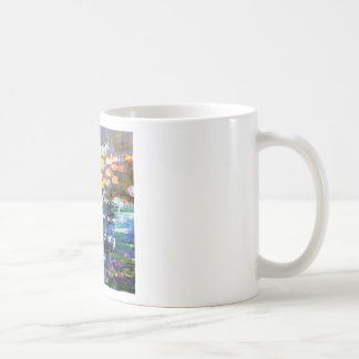 Water lily and Monet fascination. Coffee Mug