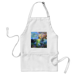 Water lily and Monet fascination. Standard Apron