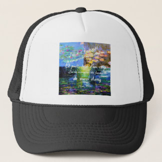 Water lily and Monet fascination. Trucker Hat