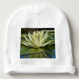 Water lily baby beanie