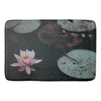 Water Lily Bathroom Mat
