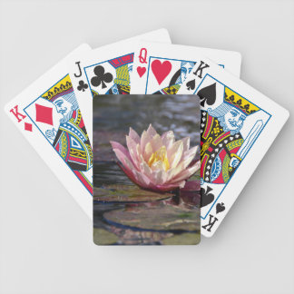 Water Lily Bicycle Playing Cards