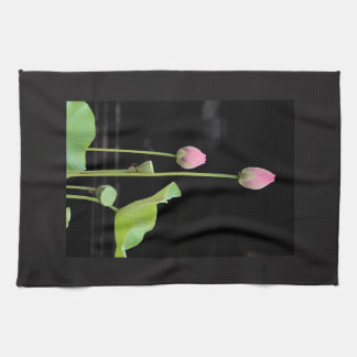 Water Lily Blossom Kitchen Towel