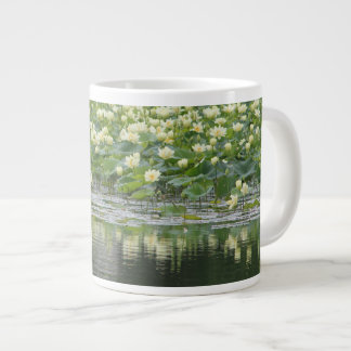 Water Lily Design 10 Large Coffee Mug