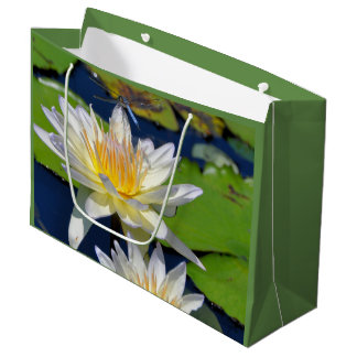 Water Lily & Dragonfly Frameable Gift Bag