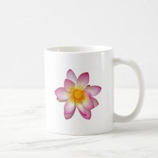 water lily flower coffee mug