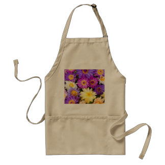 Water lily flowers standard apron