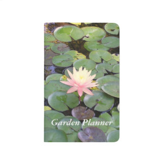 Water Lily Garden Planner Journal
