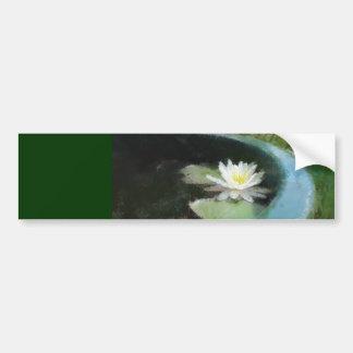 Water Lily Gift Range Bumper Sticker