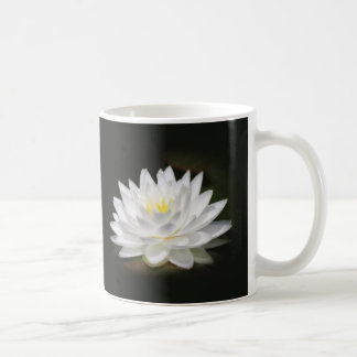 Water Lily Glow Coffee Mug