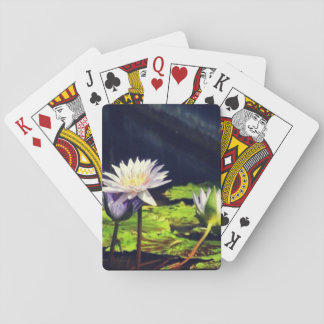 Water Lily in Corkscrew Swamp Playing Cards