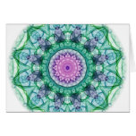 Water Lily kaleidoscope Cards