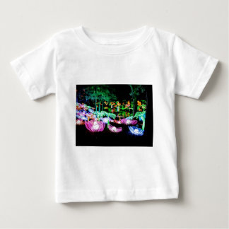 Water LIly Light Up Night Photography Baby T-Shirt